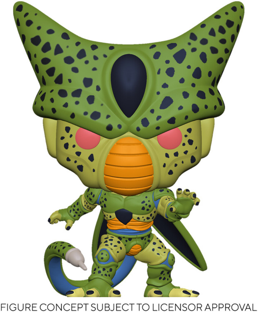 - FUNKO POP! ANIMATION: Dragon Ball Z - Cell (First Form)
