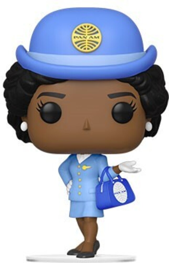 Funko Pop! AD Icons: - Pan Am- Stewardess W/ Blue Bag (Vfig)