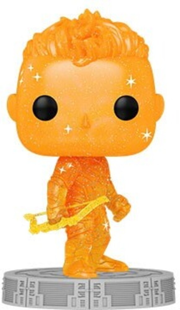 Funko Pop! Artist Series: - Infinity Saga- Hawkeye (Orange) (Vfig)