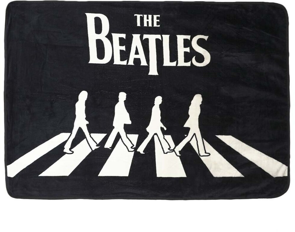 - Beatles Abbey Road 48x60 Polyester Throw (Blan)