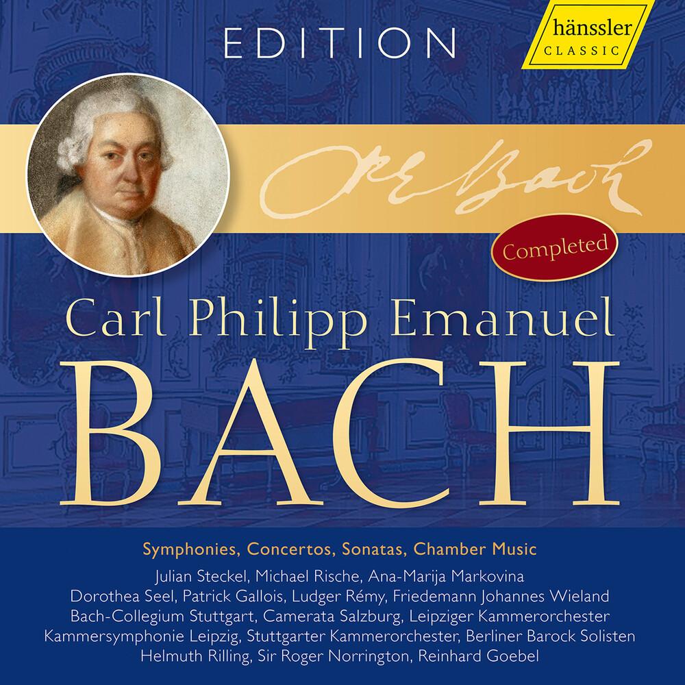 C Bach .P.E. - C.P.E. Bach Edition (Box)