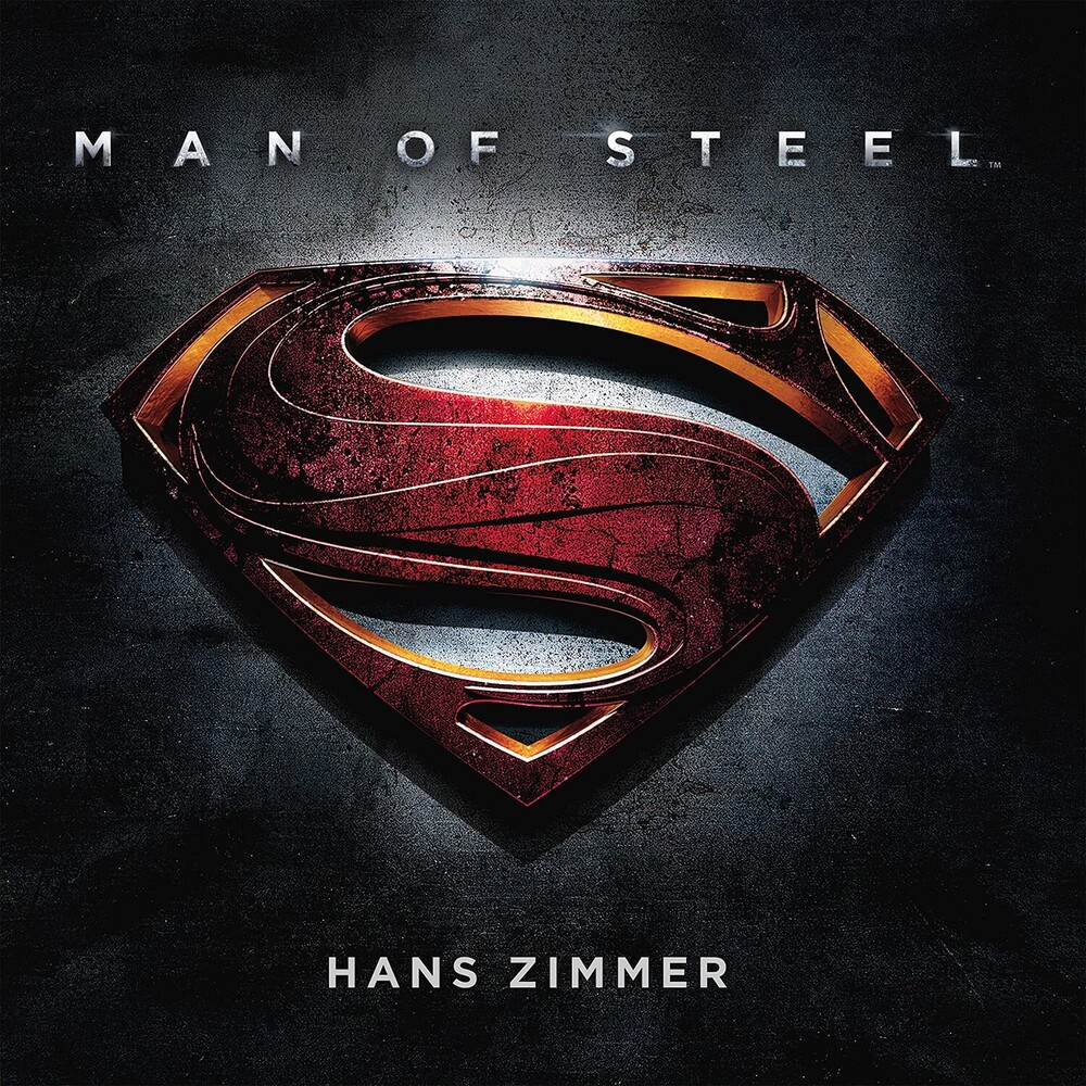 Hans Zimmer  (Blue) (Colv) (Gate) (Ltd) (Ogv) (Hol) - Man Of Steel / O.S.T. (Blue) [Colored Vinyl] (Gate) [Limited Edition]