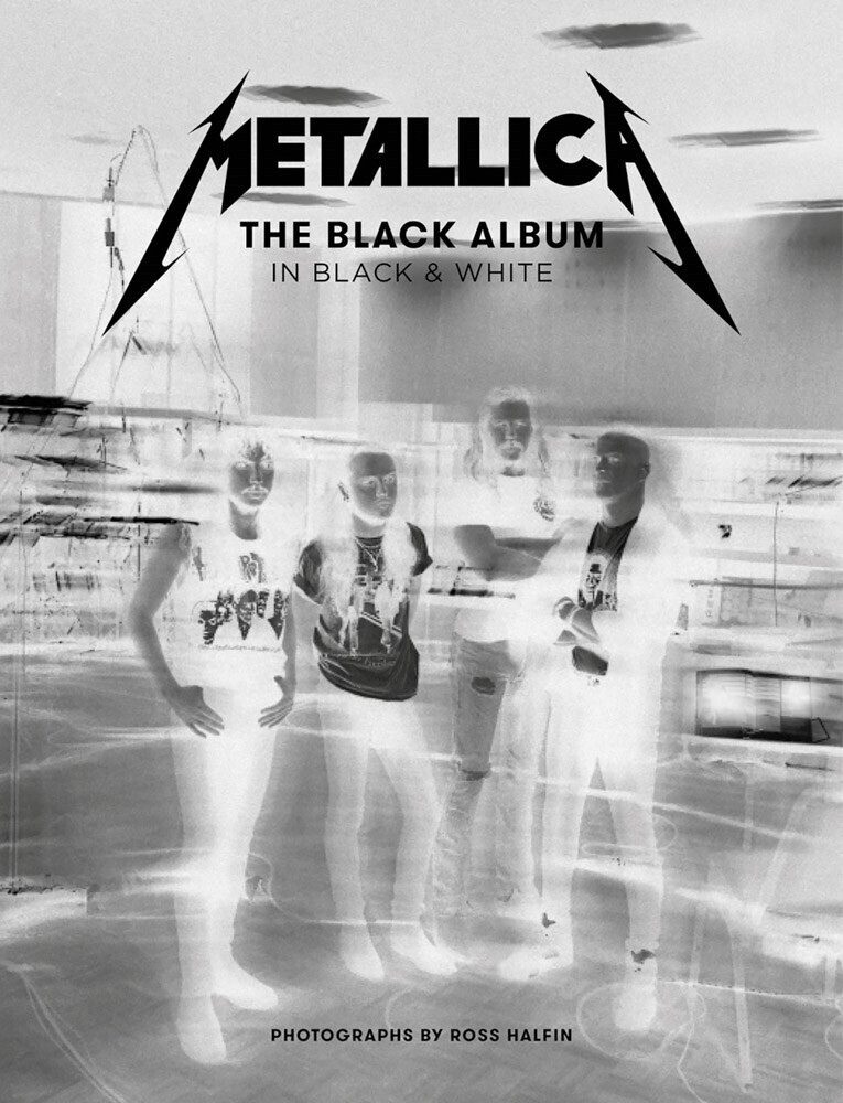 Lars Ulrich  / Hetfield,James / Hammett,Kirk - Metallica The Black Album In Black & White (Hcvr)