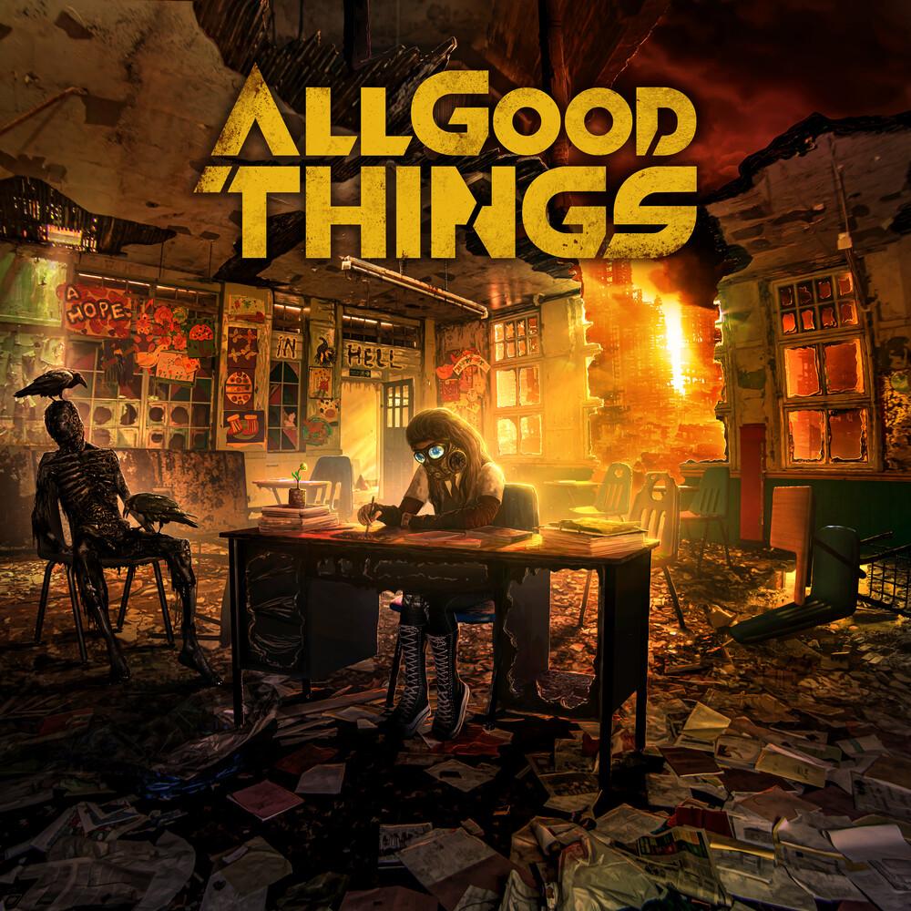 All Good Things - Hope In Hell (Translucent Orange & Black Vinyl)