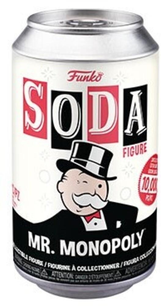 Funko Vinyl Soda: - Monopoly- Mr. Monopoly (Vfig) (Chv)