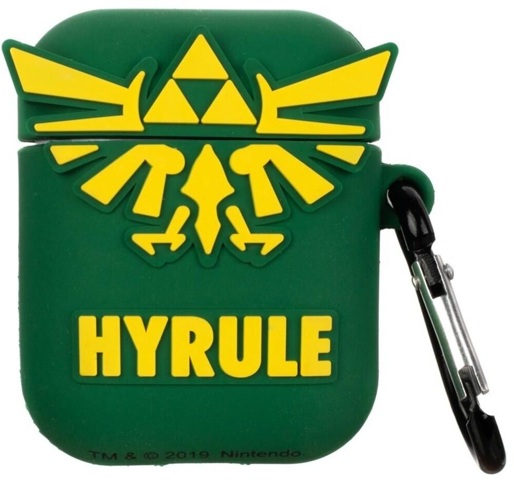 Nintendo Legend of Zelda Crest Airpod Cover - Nintendo Legend Of Zelda Crest Airpod Cover (Snap)