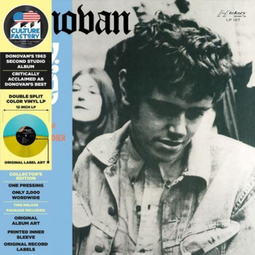 Donovan - Fairytale (IEX) (Light Blue & Yellow Vinyl)