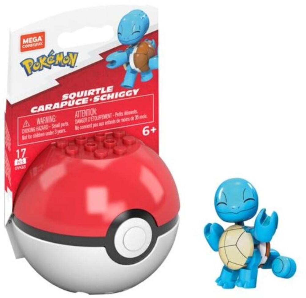 Mega Brands Pokemon - Pokemon Squirtle 25th Anniversary (Fig) (Brik)