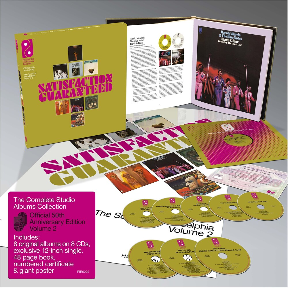 Various Artists - Satisfaction Guaranteed: The Sound of Philadelphia International Records Vol 2 / Various