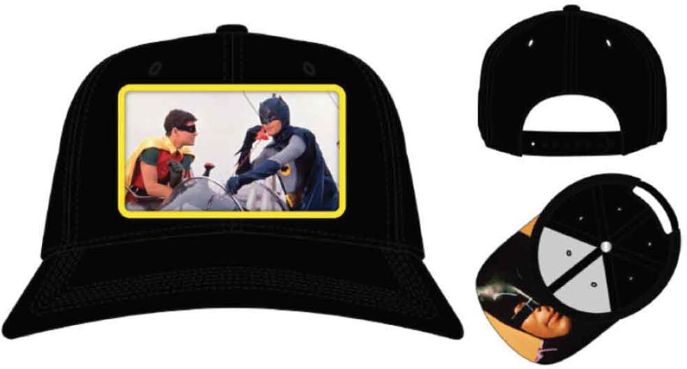 Dc Comics Batman Adam West Snapback Bb Cap - Dc Comics Batman Adam West Snapback Bb Cap (Hat)