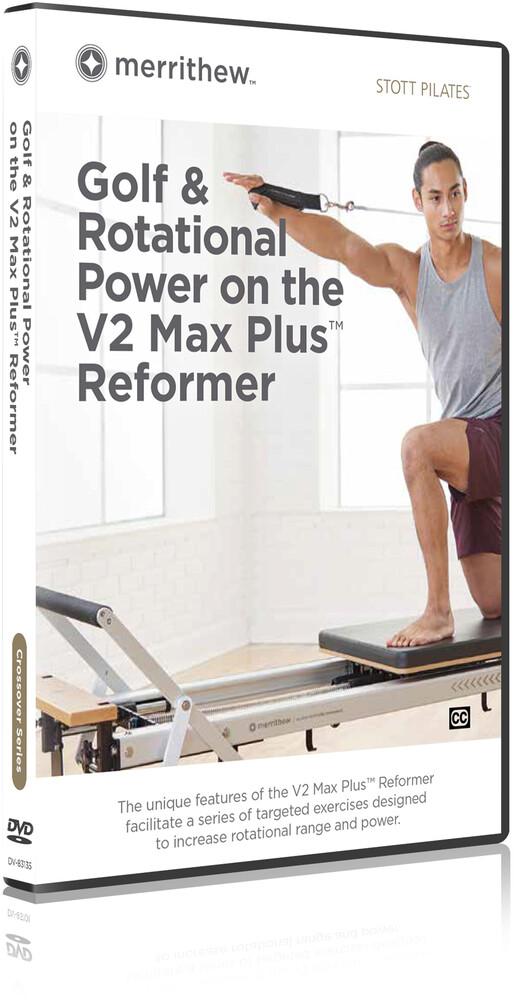 Stott Pilates Golf & Rotational Power V2 Max+ Ref - STOTT PILATES Golf & Rotational Power On The V2 Max Plus Reformer