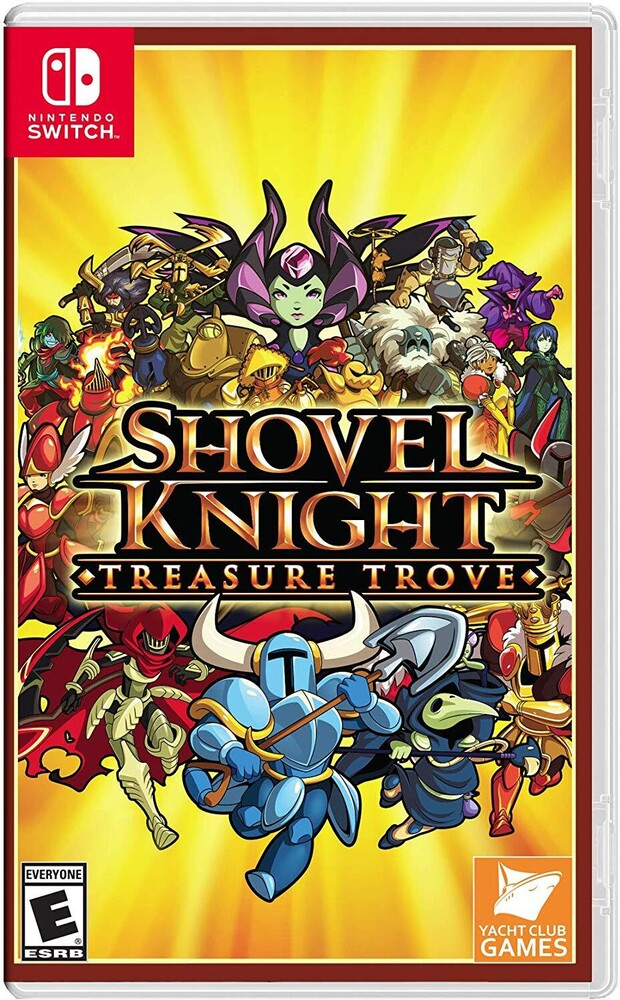 - Shovel Knight: Treasure Trove