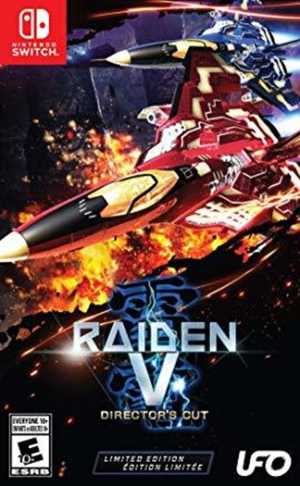 Swi Raiden V: Directors Cut Limited Ed - Raiden V: Director's Cut Limited Edition for Nintendo Switch