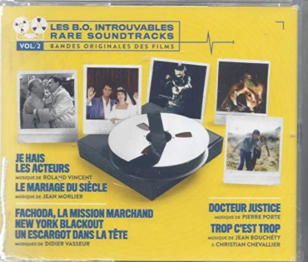Various Artists - Les B.O. Introuvables: Rare Soundtracks 2 / Var