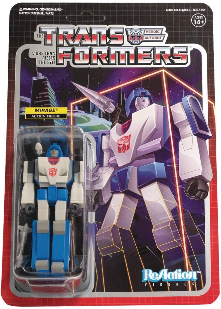 Transformers Reaction Figures Wave 2 - Mirage - Transformers ReAction Figures Wave 2 - Mirage