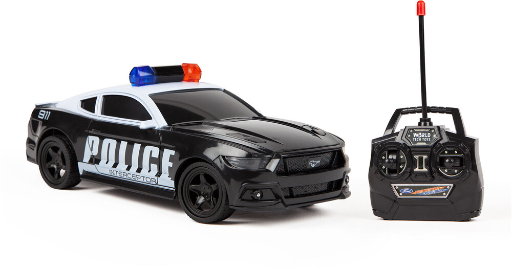 Rc Vehicles - 1:24 Officially Ford Mustang Police Car Full Function RC