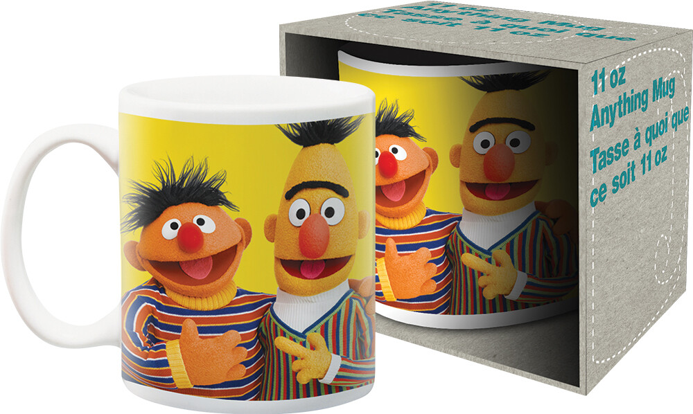Sesame Street Bert & Ernie 11Oz Mug Boxed - Sesame Street Bert & Ernie 11oz Mug Boxed
