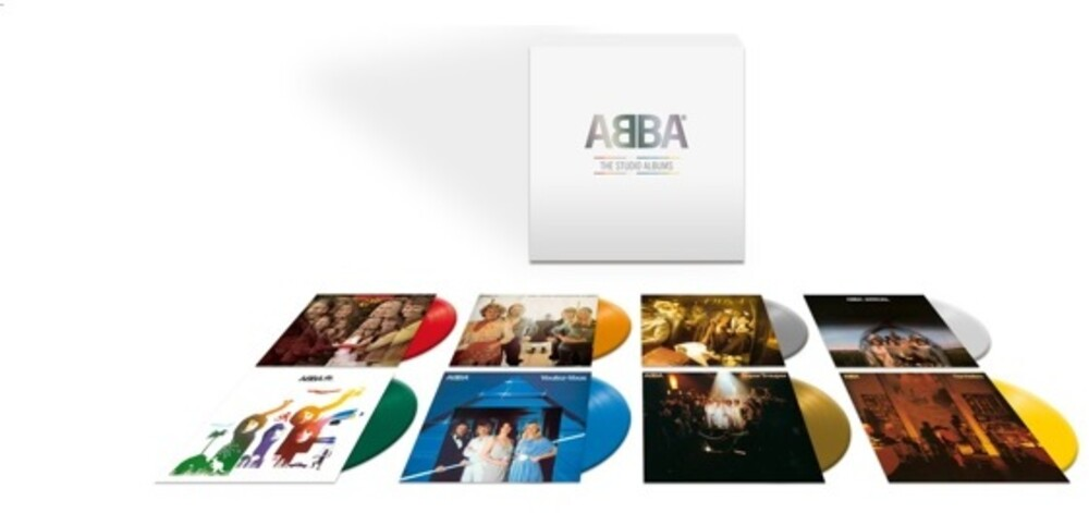 ABBA - ABBA - The Vinyl Collection [Limited Edition Colored 8LP Box Set]