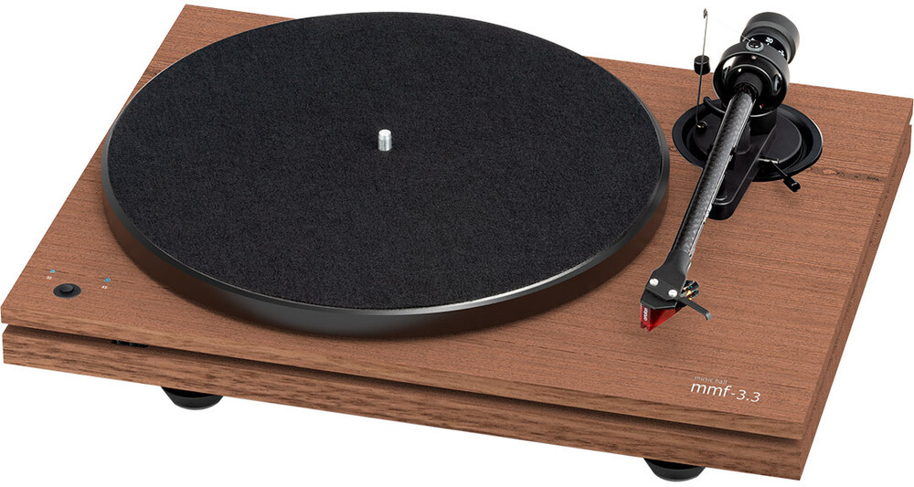 - Music Hall Audio mmf-3.3se Turtable Dual-Plinth Belt Drive 3 Speed (33 1/3, 45 RPM and 78 RPM) Manual Turntable- With Carbon Fib