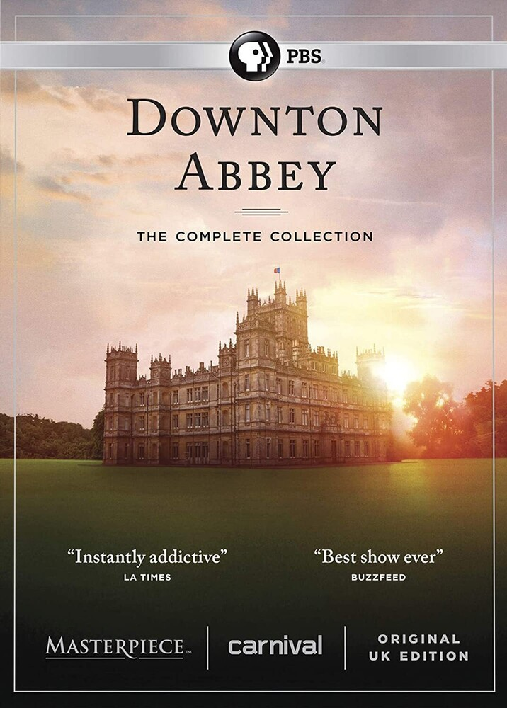 - Masterpiece: Downton Abbey - Complete Collection
