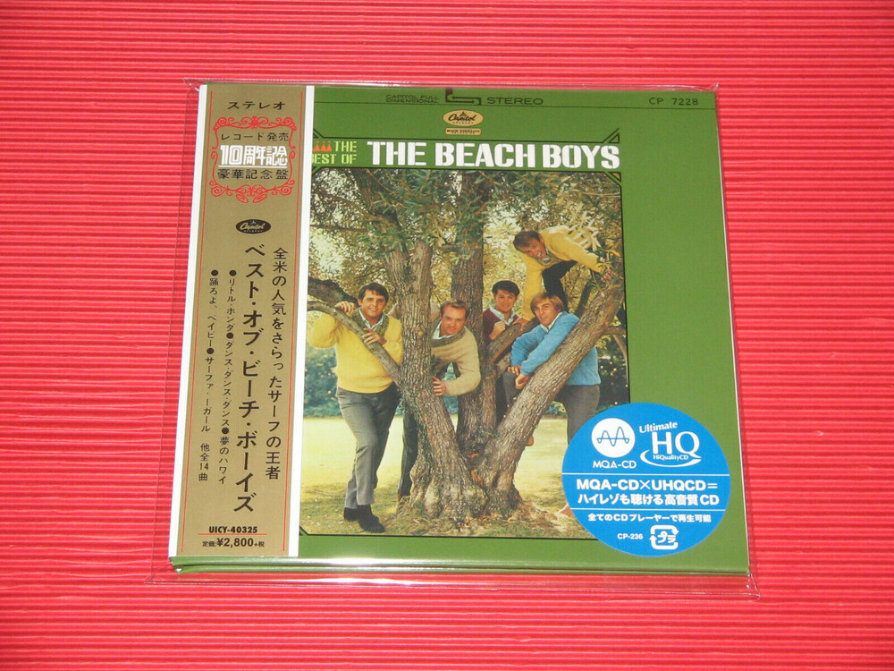 Beach Boys - The Best Of The Beach Boys (Paper Sleeve / UHQCD / MQA - 24bit Remaster)