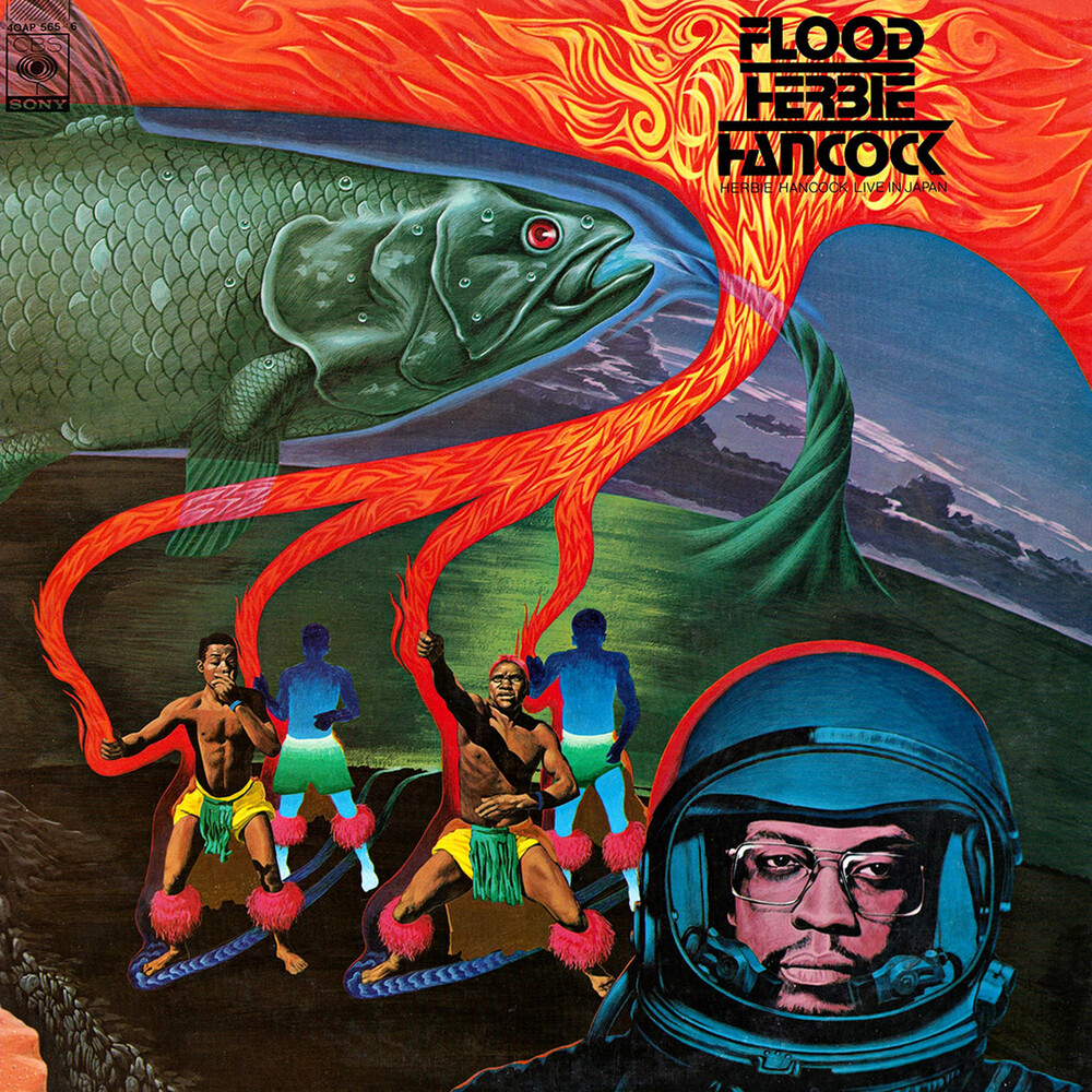 Herbie Hancock - Flood [Colored Vinyl] (Red)