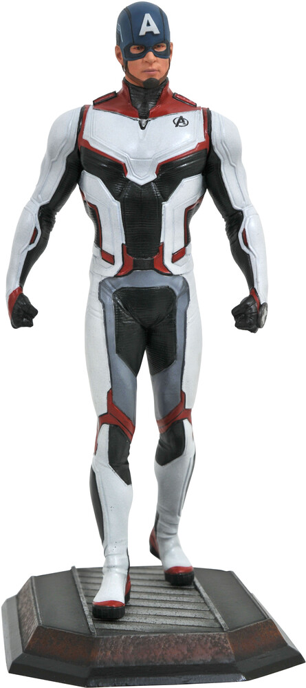 Diamond Select - Diamond Select - Marvel Gallery Avengers 4 Team Suit Captain AmericaStatue