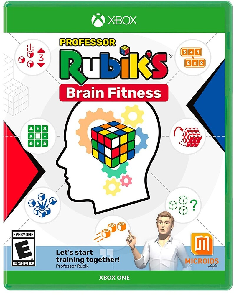 Xb1 Professor Rubik's Brain Fitness - Professor Rubik's Brain Fitness for Xbox One