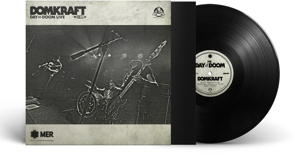 Domkraft - Day Of Doom Live (Blk)