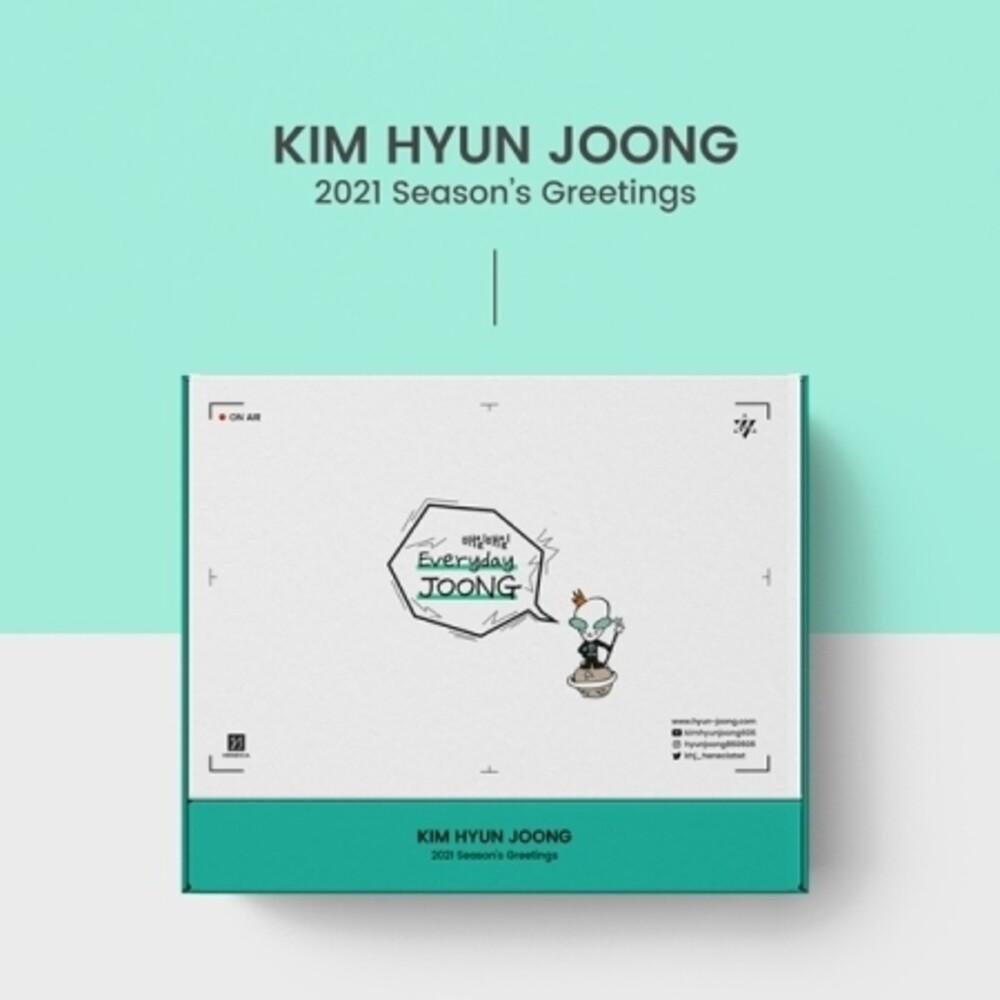Kim Hyun Joong - 2021 Season's Greetings (Everyday Joong) (Cal)