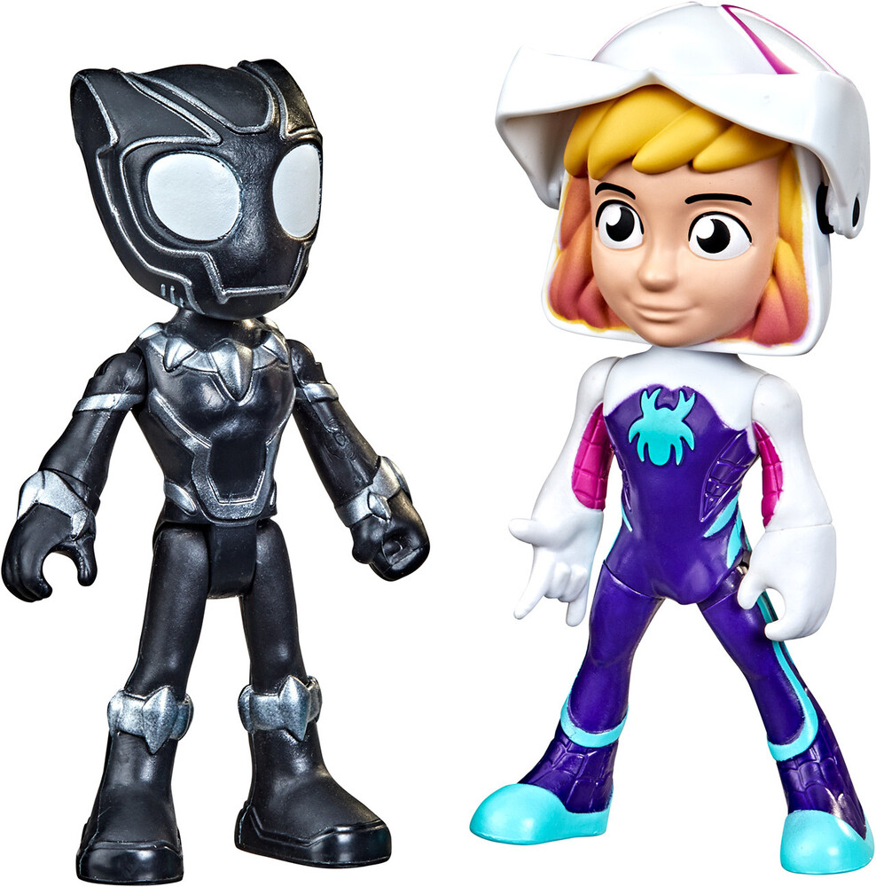 Saf Hero Reveal Ghost Spider - Hasbro Collectibles - Spidey And His Amazing Friends Hero Reveal GhostSpider