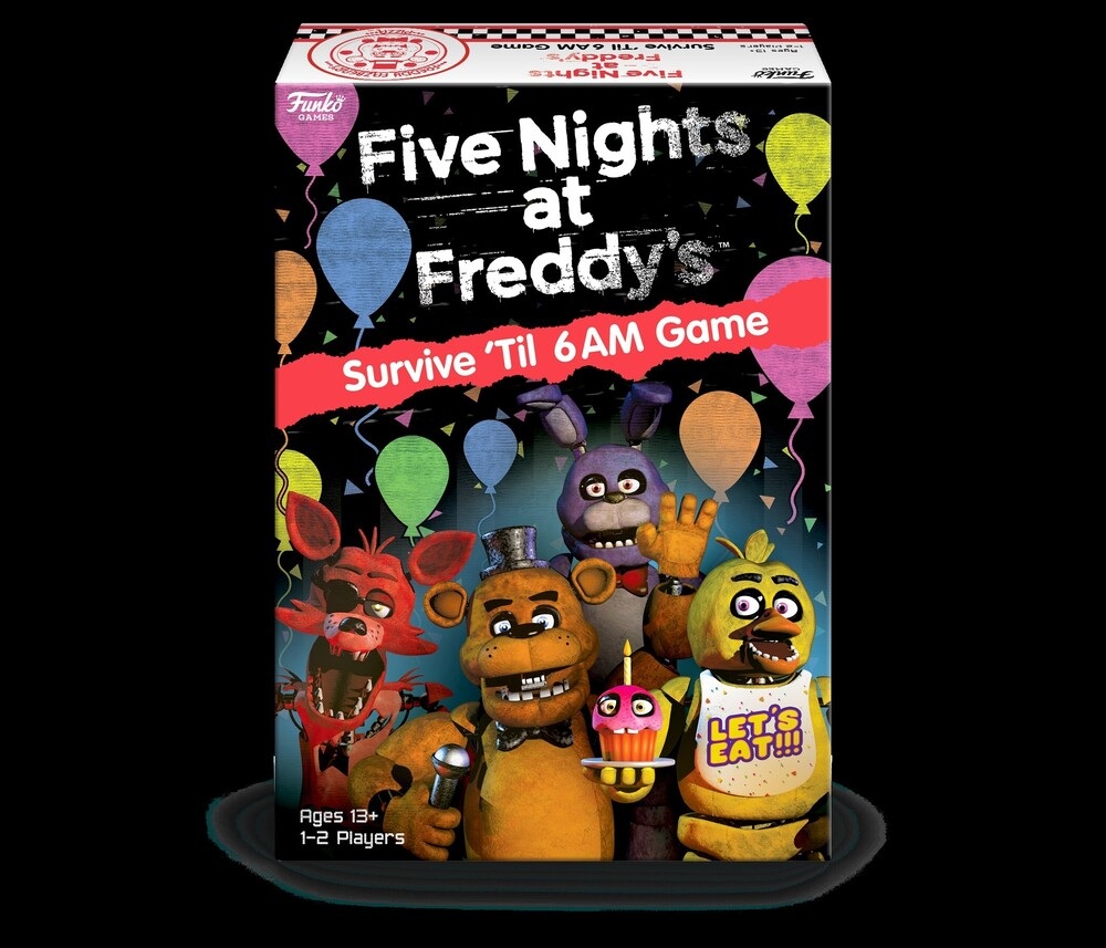 Funko Games: - Five Nights At Freddy's - Survive 'til 6am Game