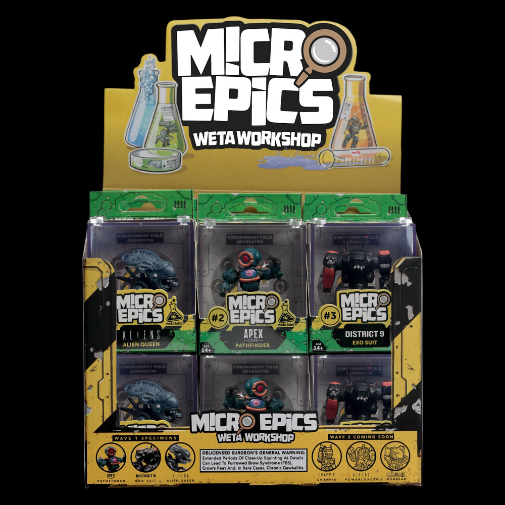 Micro Epics - WETA Workshop Micro Epics - Counter Display Unit (Wave 1)