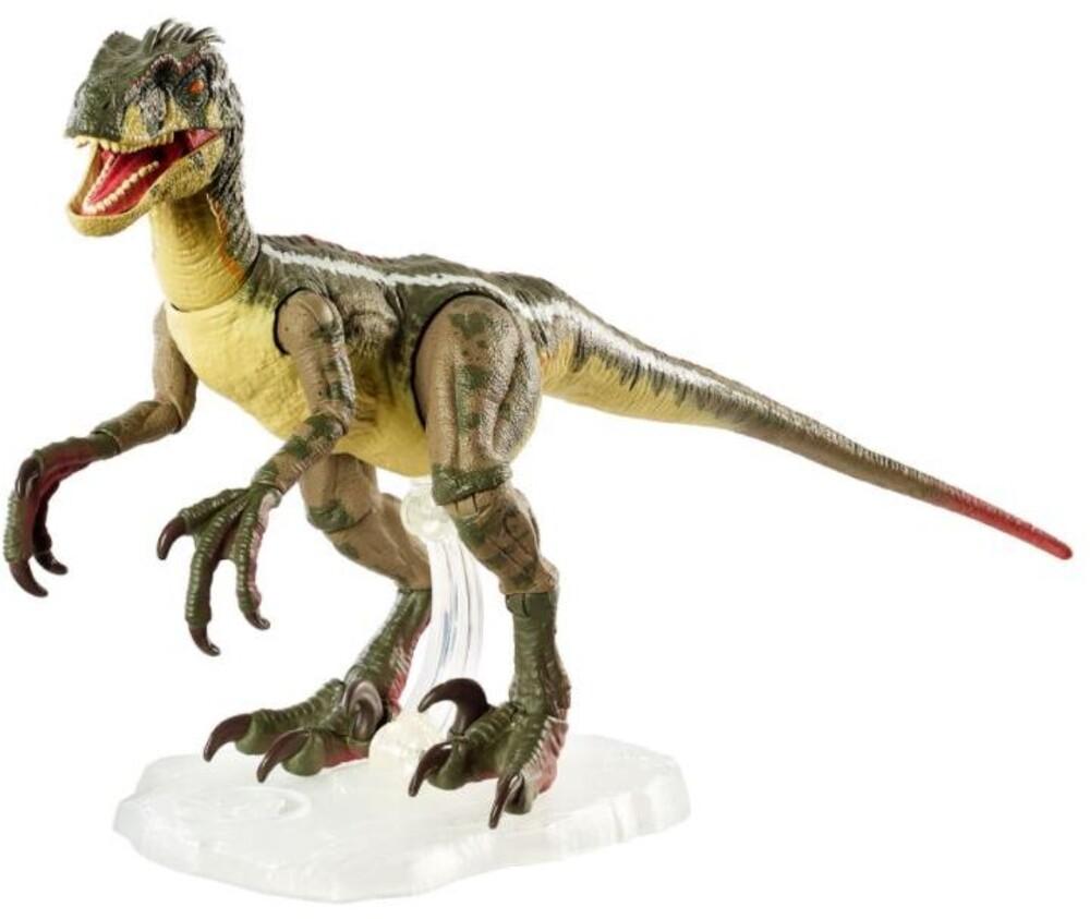 Amber Collection Jurassic World - Mattel Collectible - Amber Collection Jurassic World Jurassic Park 3 Male Velociraptor
