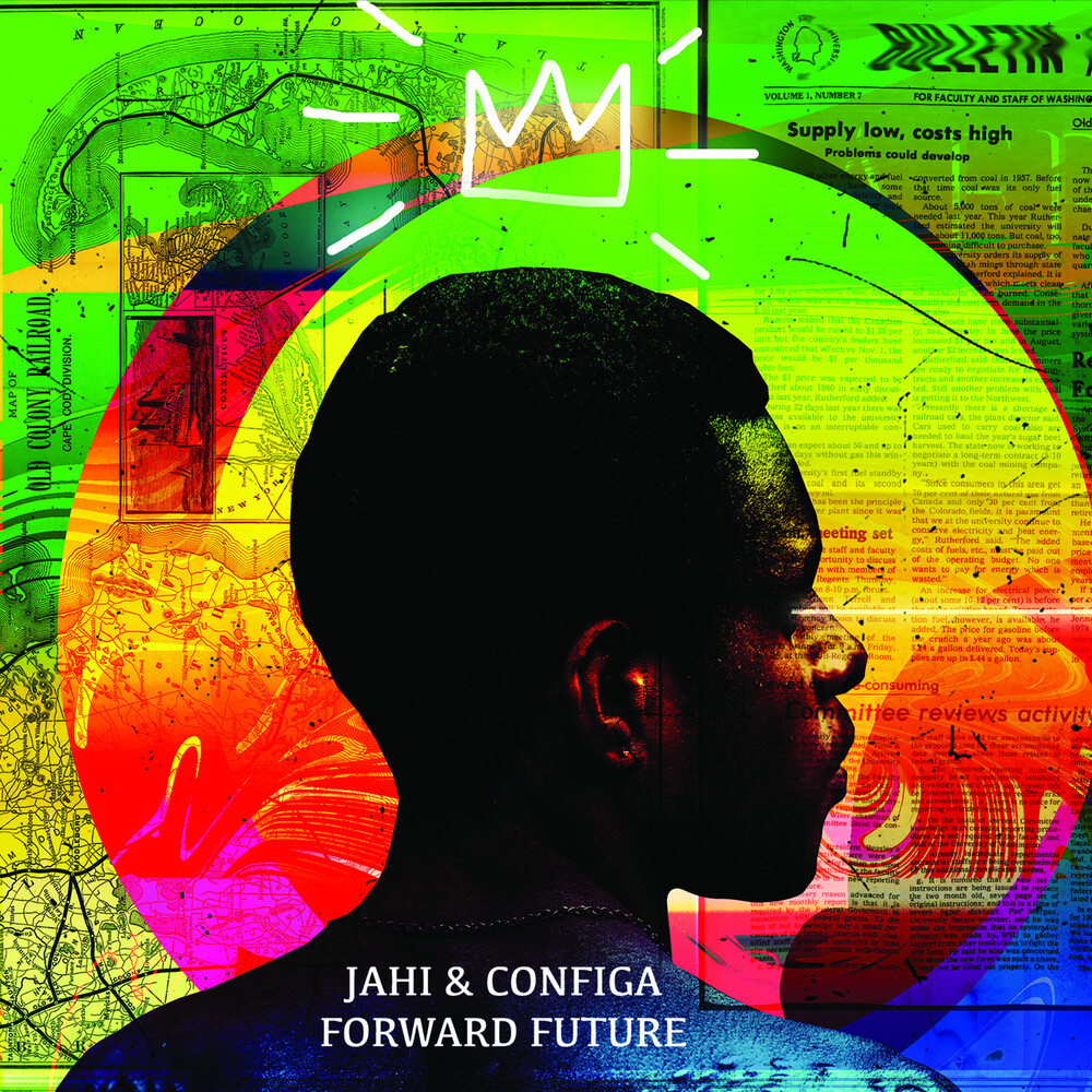 Jahi & Configa - Future Forward (Green Vinyl) [Colored Vinyl] (Grn)