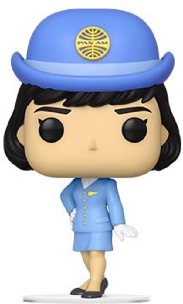 Funko Pop! AD Icons: - Pan Am- Stewardess W/O Bag (Vfig)