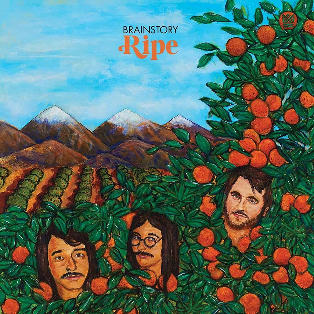 Brainstory - Ripe [Indie Exclusive] (Translucent W/ Green & Orange Swirl)