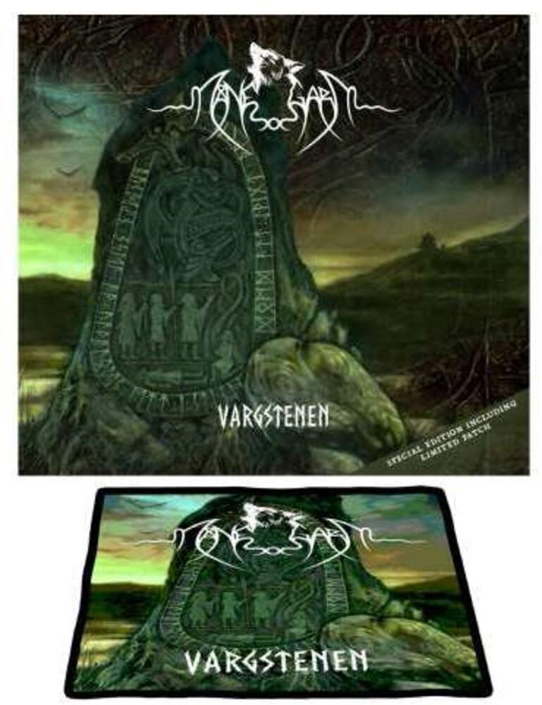 Manegarm - Vargstenen (The Wolfstone) (O-Card + Patch)