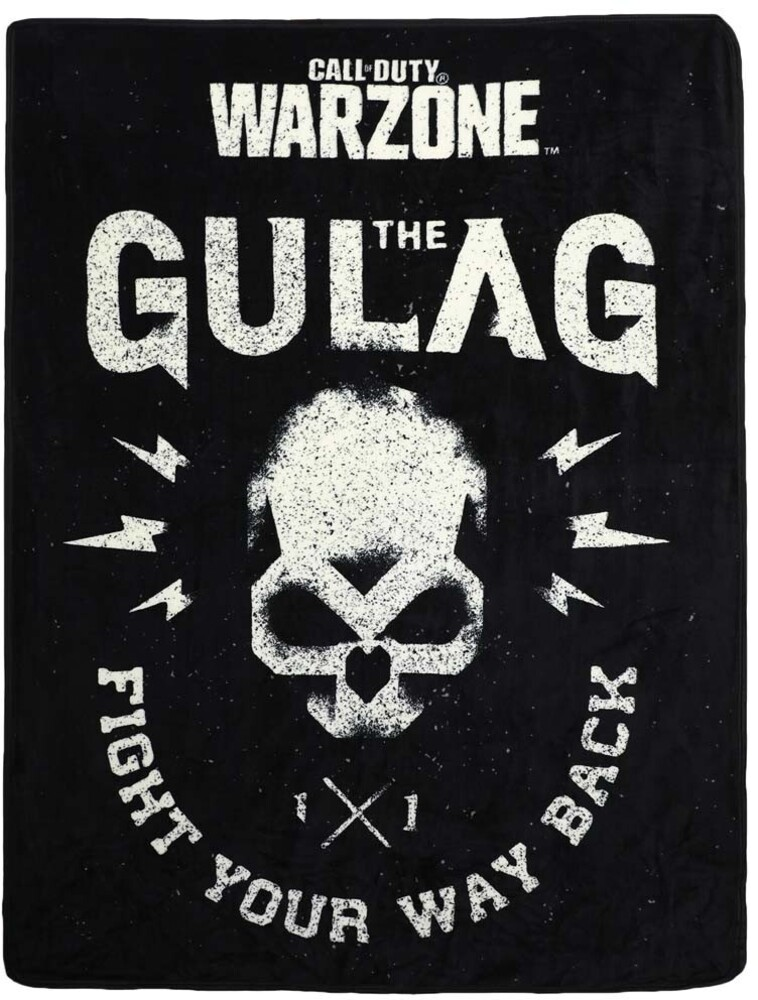 - Call Of Duty War Zone Gulag 48x60 Polyester Throw