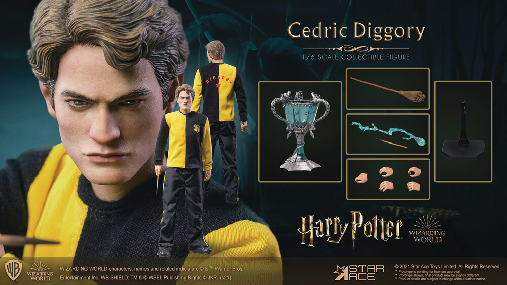 - Harry Potter Goblet Of Fire Cedric Diggory 1/6 Col