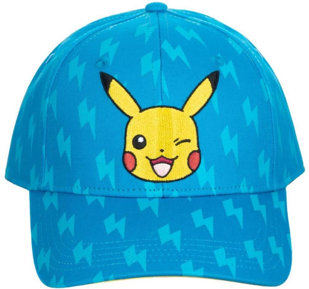 Nintendo Pokemon Pikachu Snapback Baseball Cap - Nintendo Pokemon Pikachu Snapback Baseball Cap