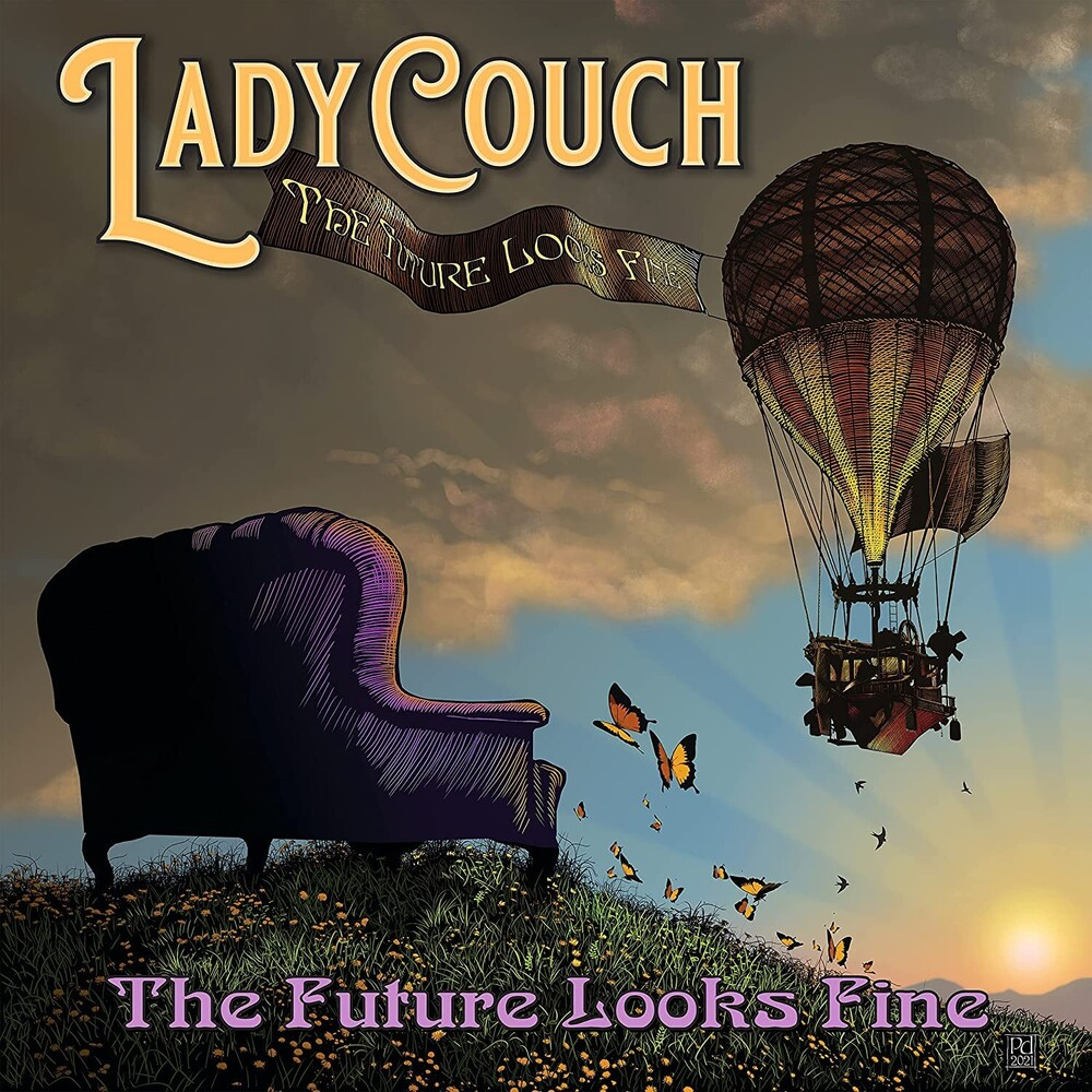 LadyCouch - Future Looks Fine (Blk) (Ofgv)