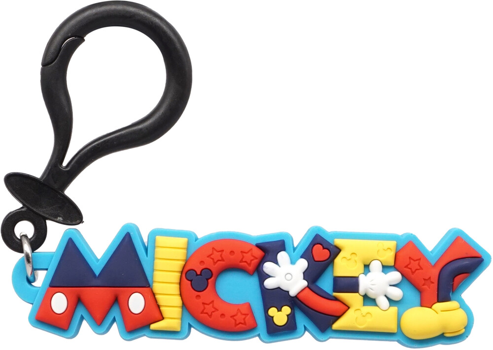 Mickey Soft Touch Pvc Bag Clip - Mickey Soft Touch Pvc Bag Clip (Key)