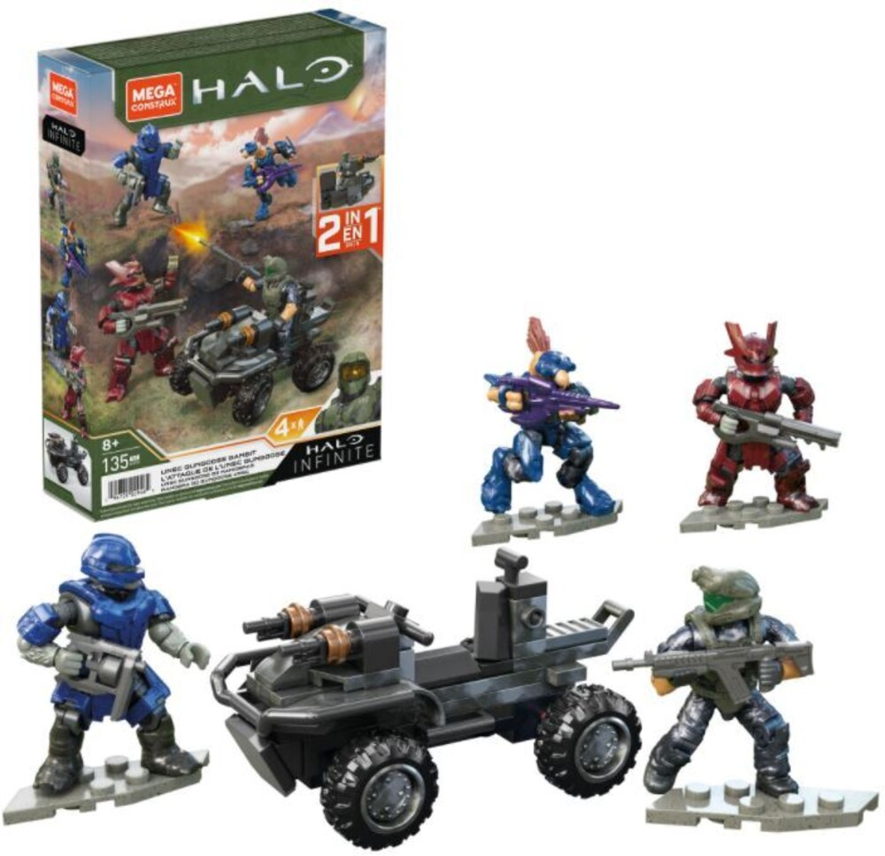 Mega Brands Halo - Halo Unsc Gungoose Gambit (Fig) (Brik)