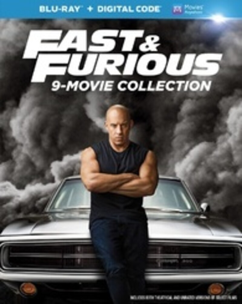 Fast & Furious 9-Movie Collection - Fast & Furious 9-Movie Collection (10pc) / (Box)