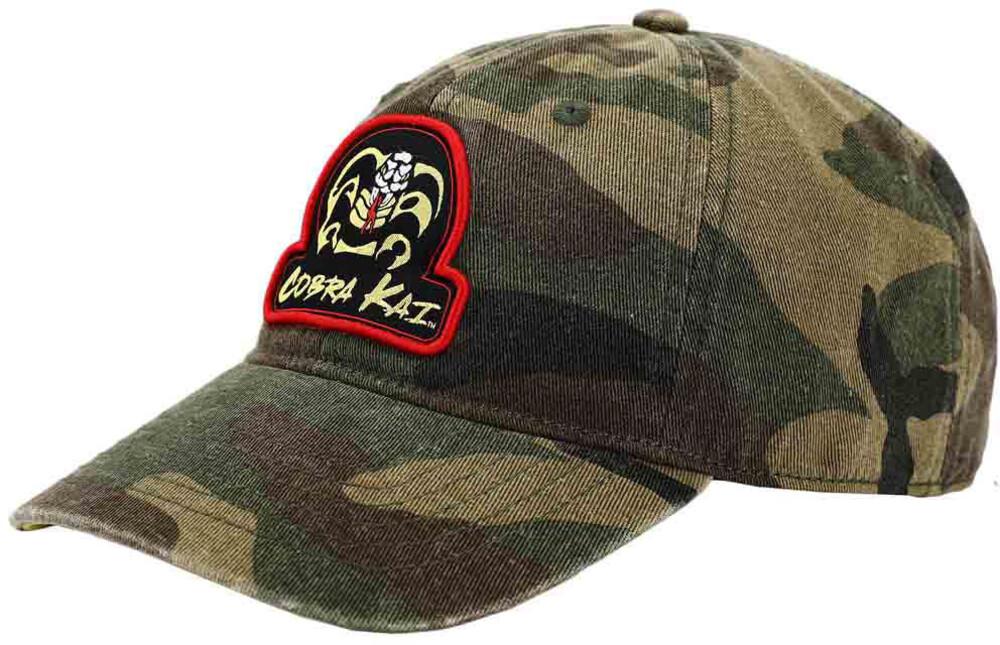 Cobra Kai No Mercy Camo Hat - Cobra Kai No Mercy Camo Hat (Hat) (Mult)