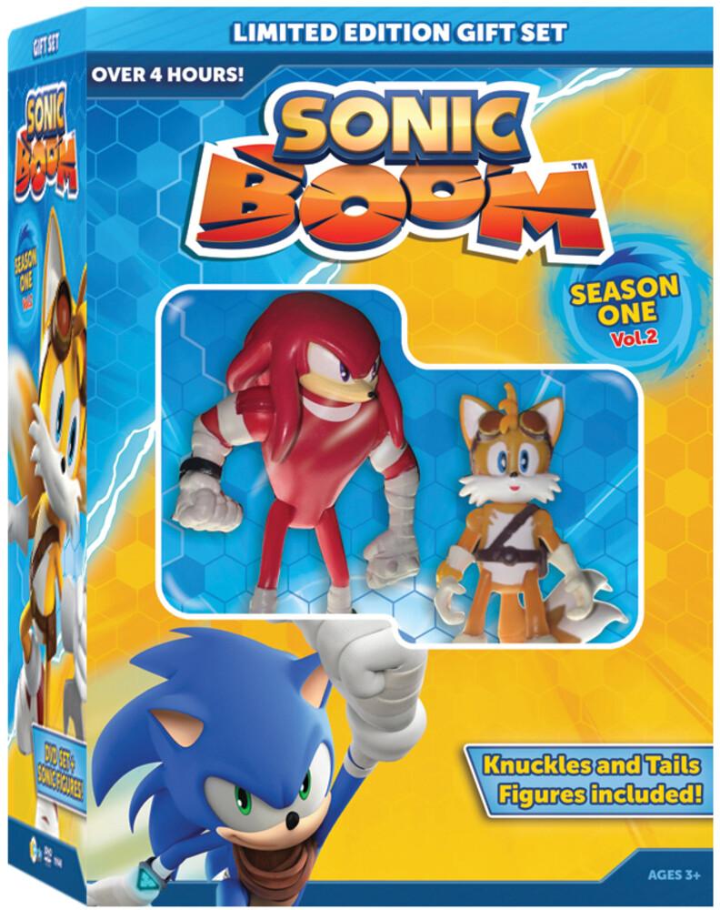 Sonic Boom Ssn 1 Vol 2 W/Figurines - Sonic Boom: Season 1 - Vol 2 (2pc) / (Fig 2pk)