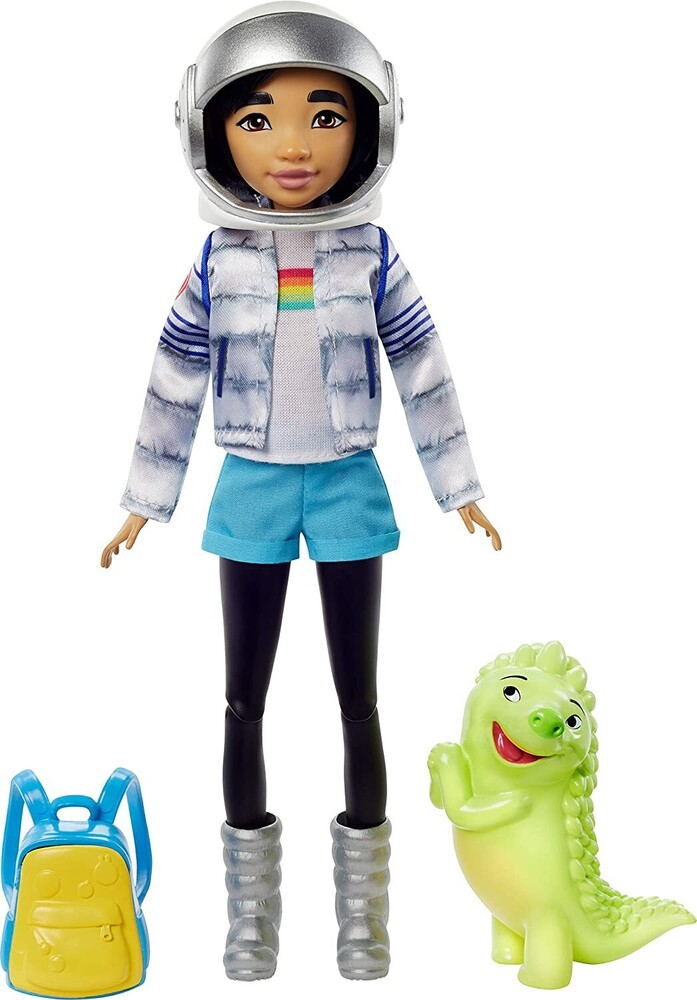 - Mattel - Over the Moon Fei Fei Doll in Space Explorer Outfit (Netflix)