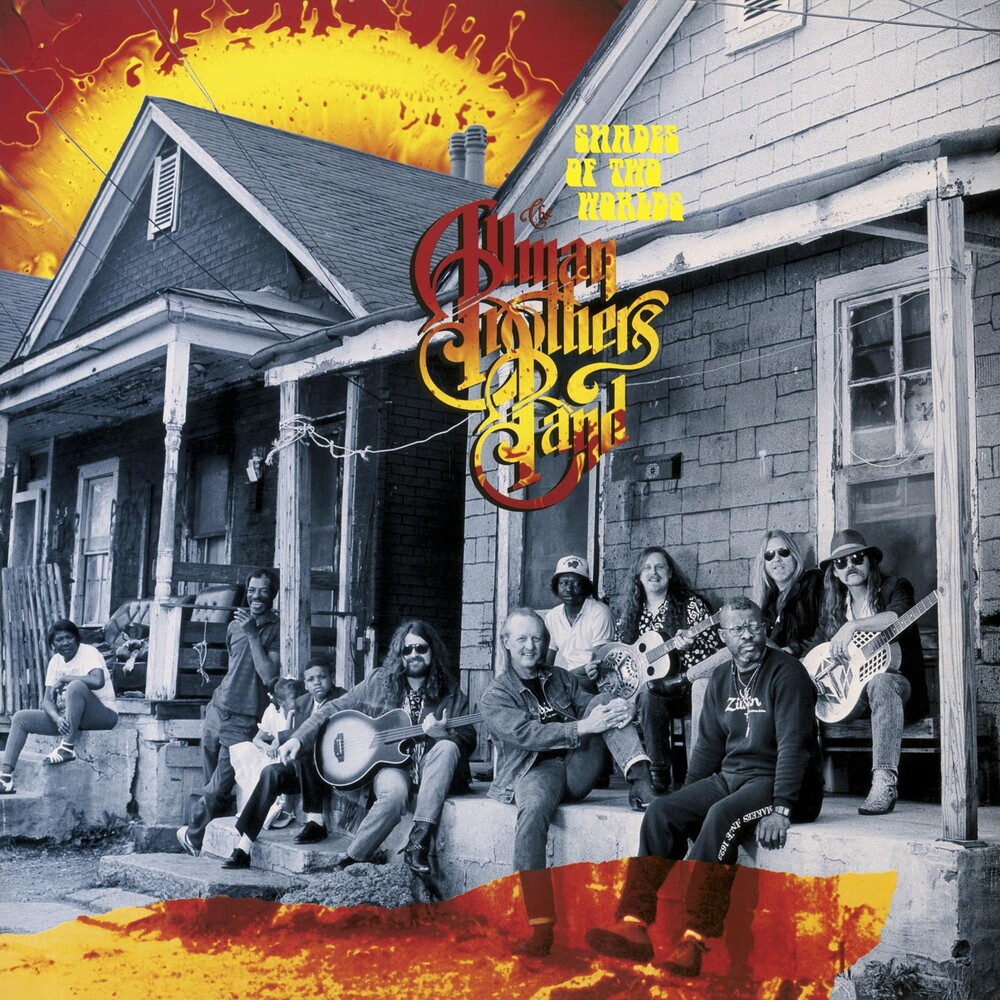 The Allman Brothers Band - Shades Of Two Worlds [Limited Edition Red & Orange Swirl 180gm LP]
