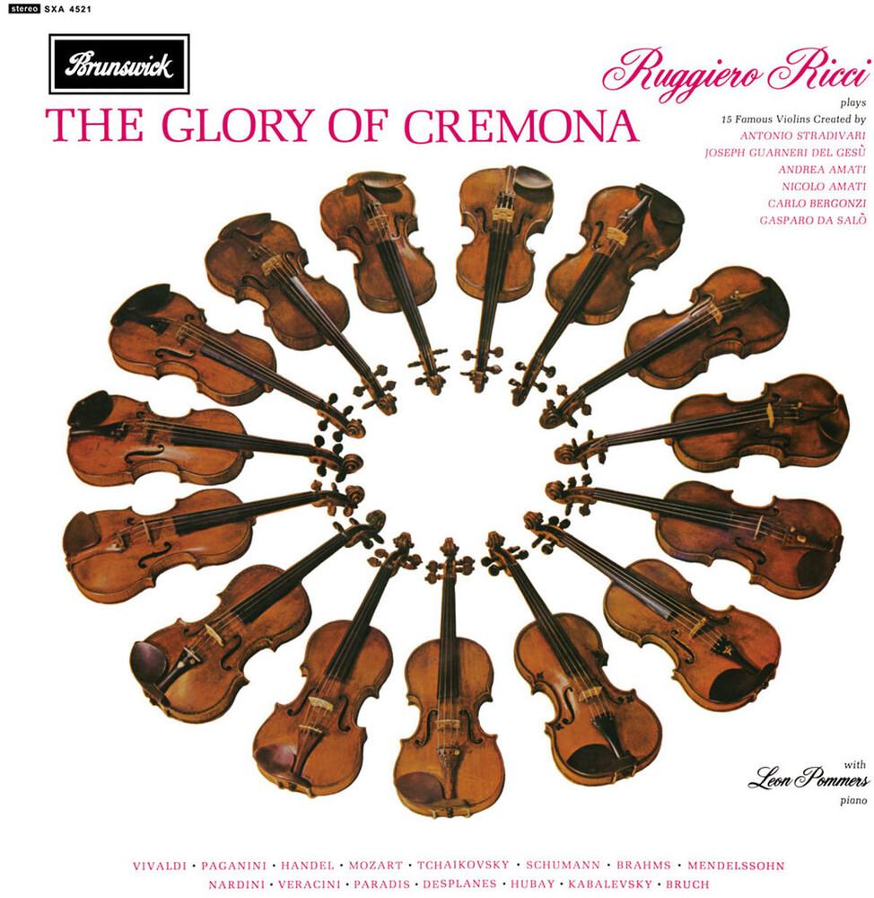 RUGGIERO RICCI - Glory Of Cremona (Ogv)